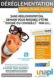 Affiche UNAPL CSMF