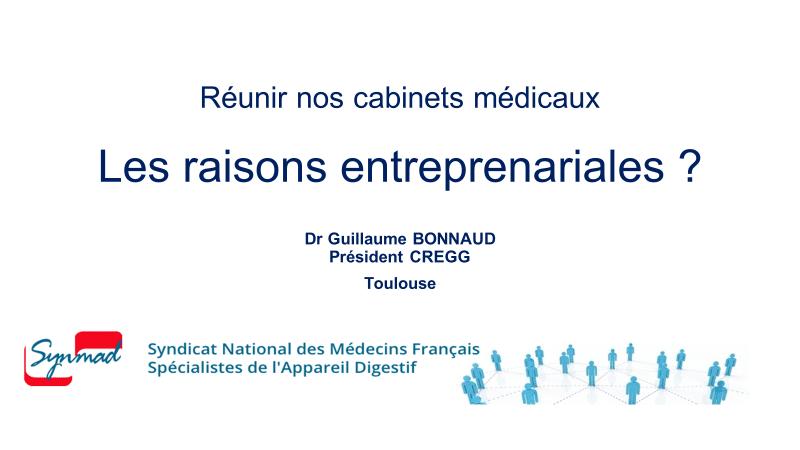 Presentation Dr BONNAUD