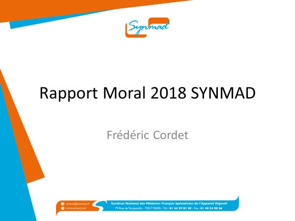 Presentation Dr CORDET